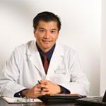 doctor behind desk