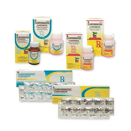 Clarithrocid - Antibiotic for Mild to Moderate Infections