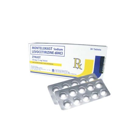 Zykast Medication for Allergic Rhinitis - Cathay Drug