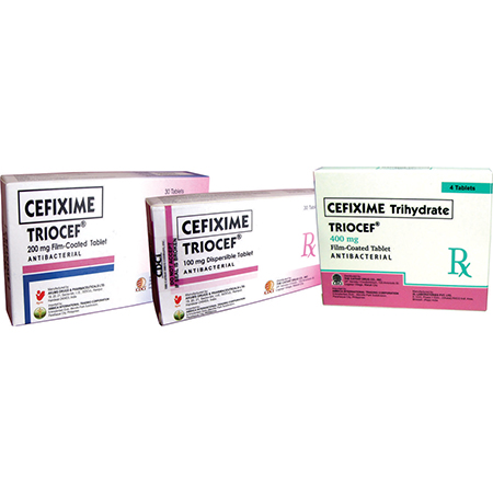 Triocef Tablet - Cathay Drug Product
