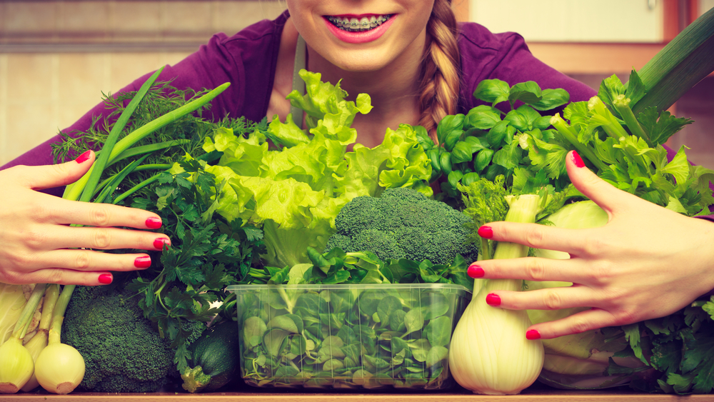 green leafy vegetables for bone health